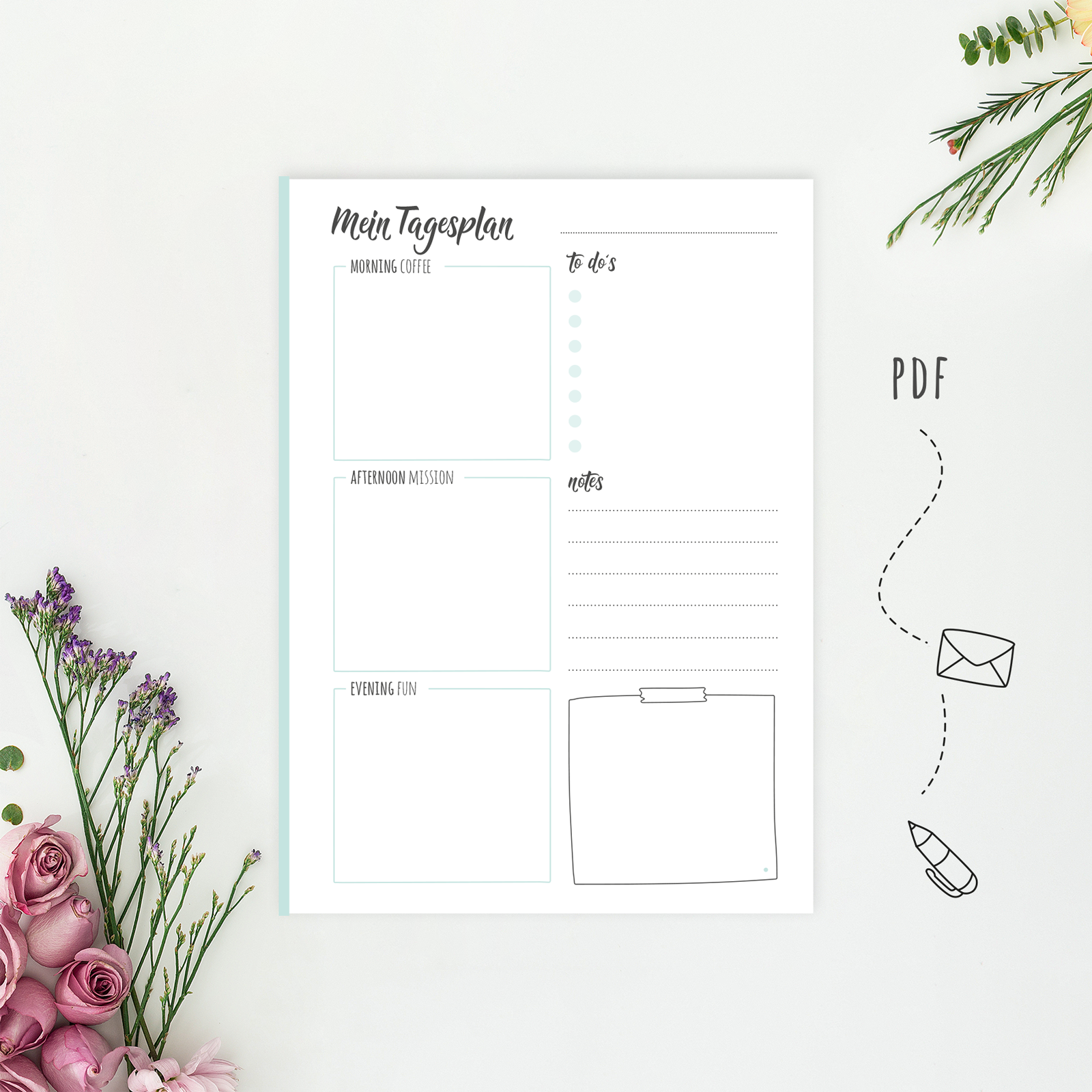 daily planner pdf
