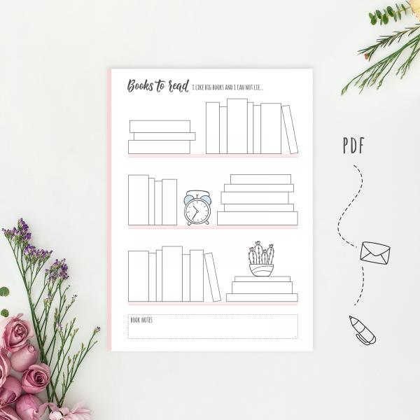 Books Tracker PDF