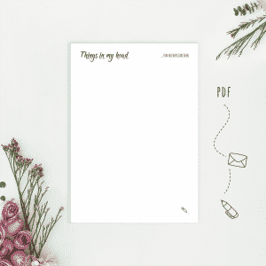 Wonderspot Digital Planner Notes