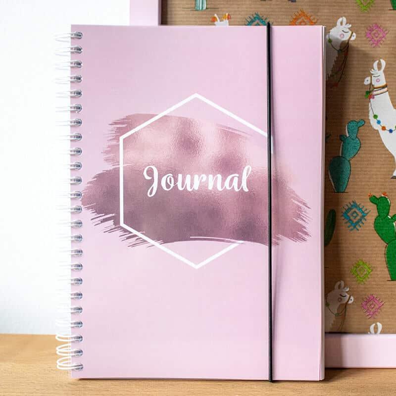 Rosy Cloud Bullet Journal Wonderspot