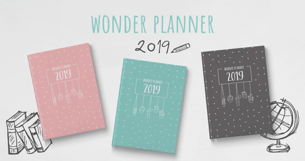 Wonderspot Wonder Planner 2019