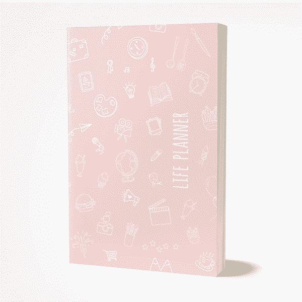 Wonderspot Life Planner Rosa