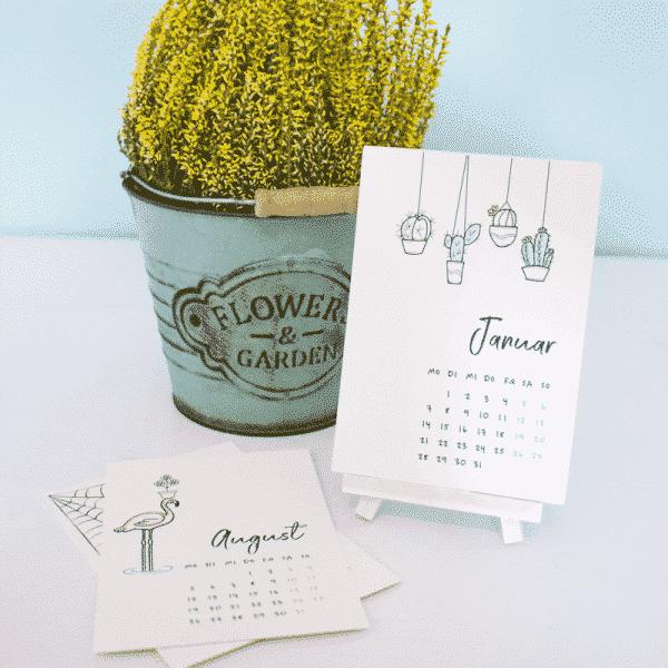 Wonderspot Tischkalender 2019