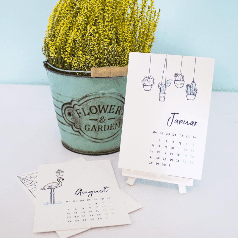 Wonderspot Postkartenkalender 2021