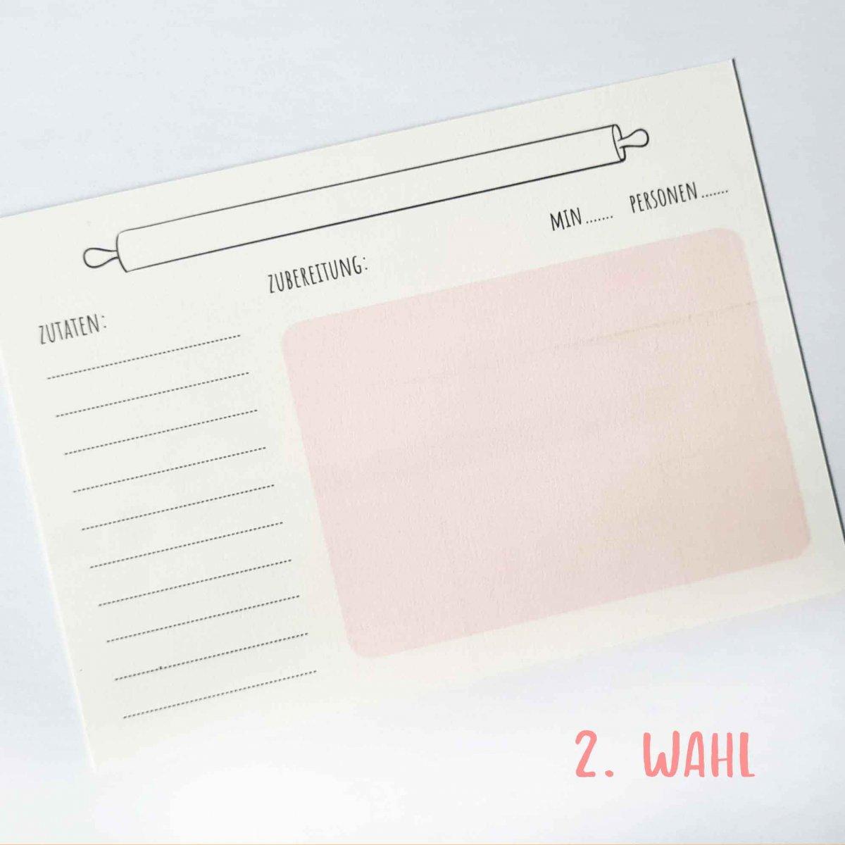 Rezeptkarten B-Ware Wonderspot