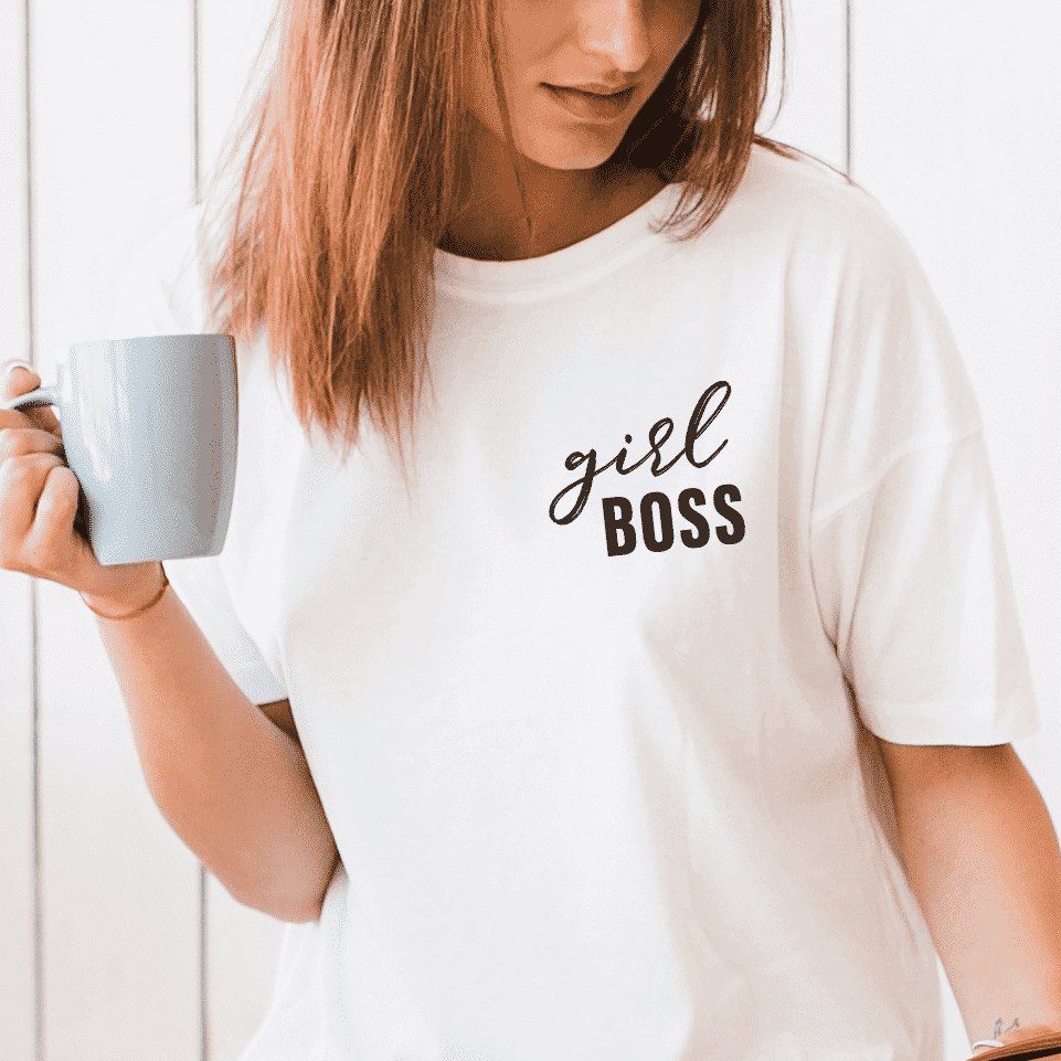 Girl Boss Girlboss Unisex T-Shirt Wonderspot