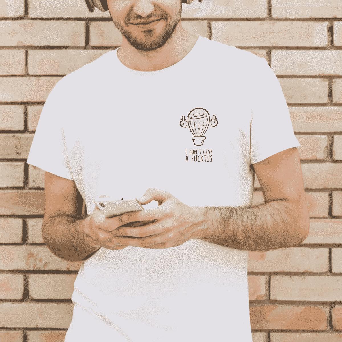 Fucktus Unisex T-Shirt Wonderspot