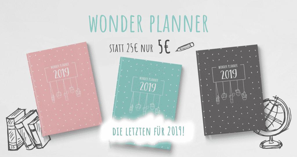 Wonder Planner Wonderspot Rabatt