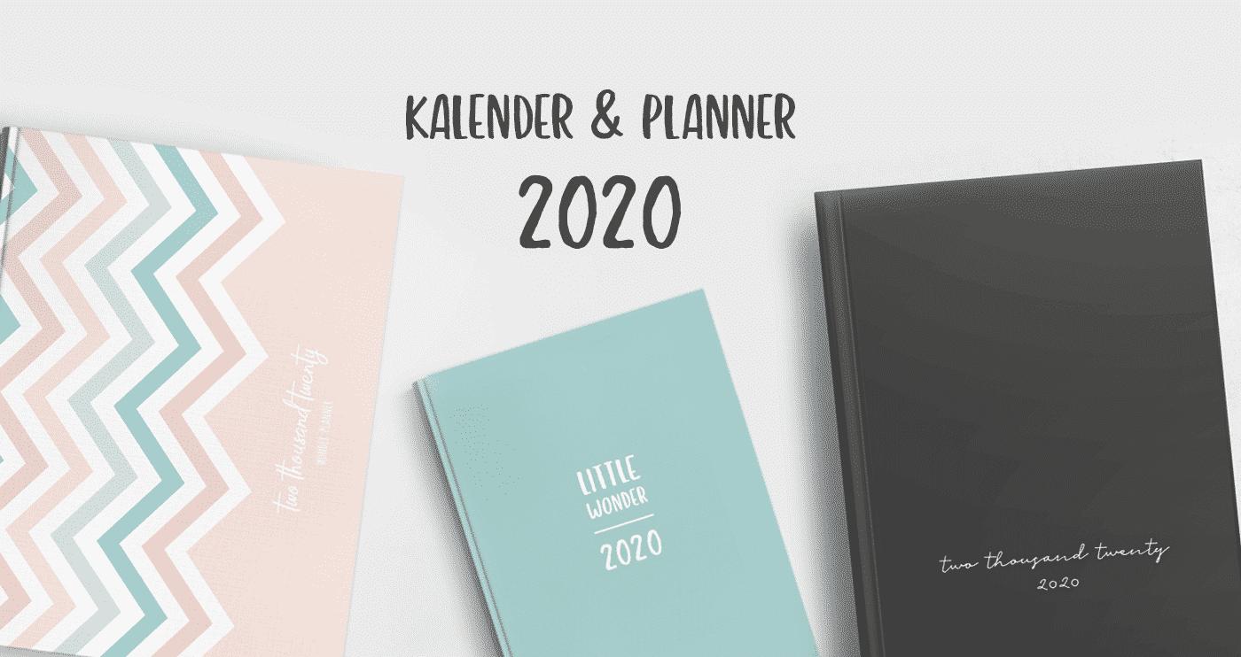 Wonderspot Kalender & Planer 2020