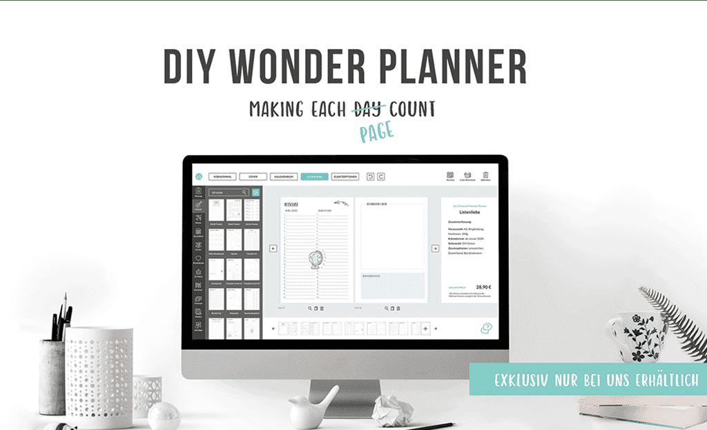 Blog Wonder Planner Kalender 2019 Marina Michaelis