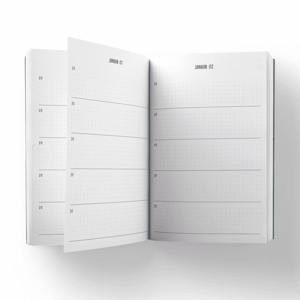 Mit diesem 5-Jahres-Notizbuch kannst du schnell und einfach deine Gedanken notieren, Wünsche niederschreiben oder Ziele festhalten. Erschaffe ein Buch voller Erinnerungen und besonderer Momente, auf die du gerne zurück schaust. Nutze es als Notizbuch, Tagebuch oder als Journal für Dankbarkeit, Achtsamkeit und Lebensplanung. Das Wonder Days 5-Jahres-Notizbuch eignet sich für jede Gelegenheiten im Leben und bietet viele Möglichkeiten. Es warten fünf wundervolle Jahre auf dich!