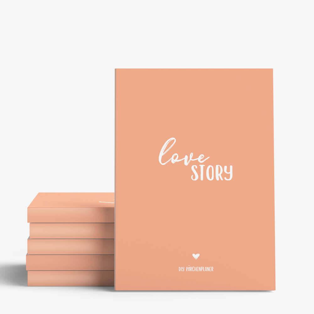 Love Story - Das Pärchenbuch & DIY Pärchenplaner Wonderspot