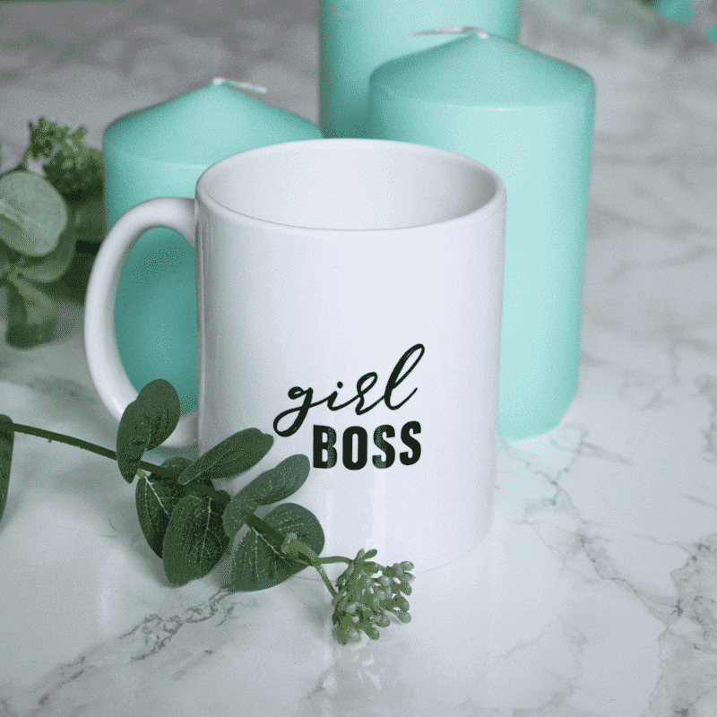 Girl Boss Wonderspot Tasse