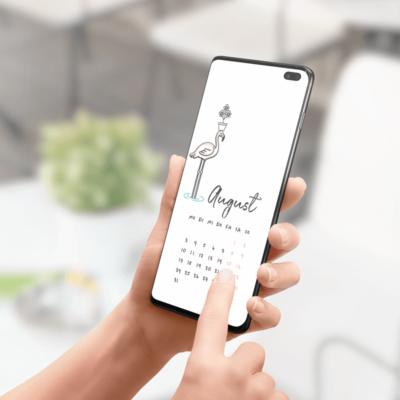 Kalender August 2020 Download Wonderspot