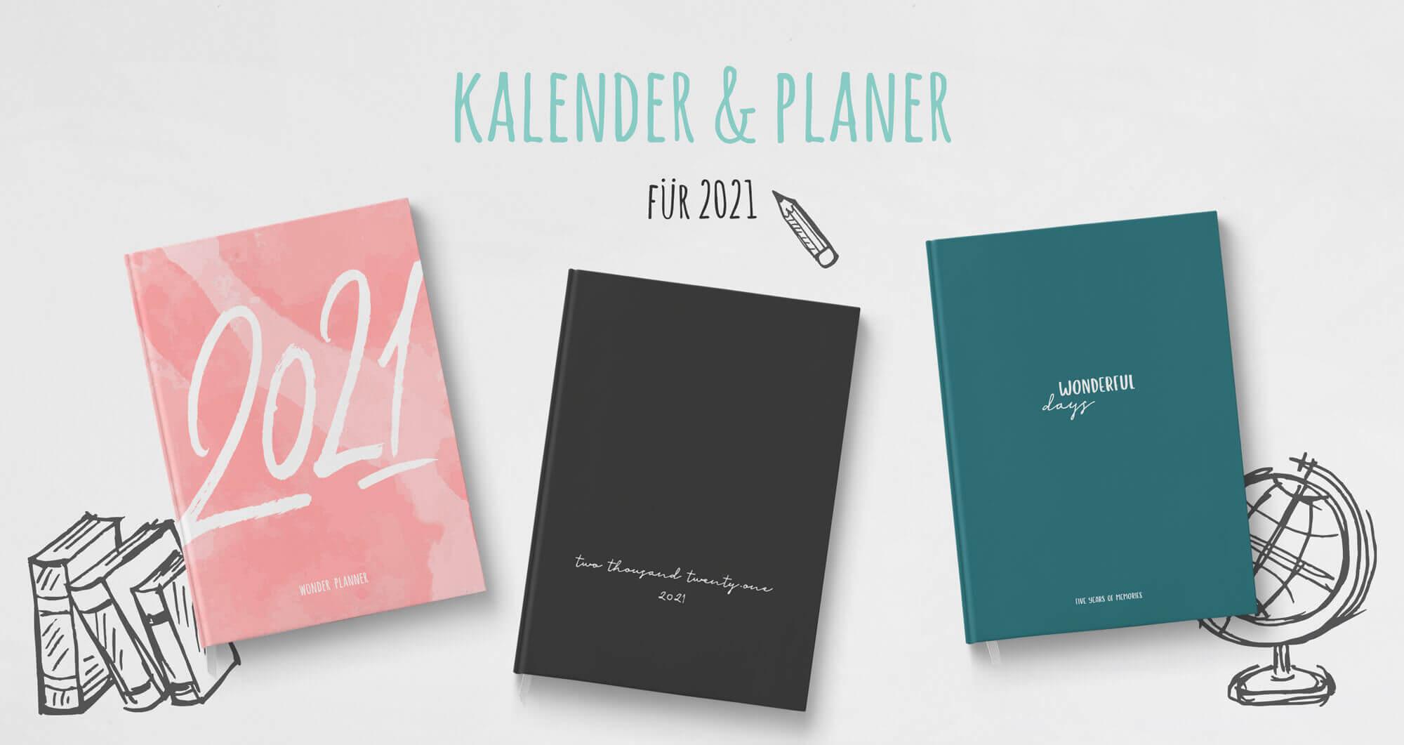 Kalender & Lebensplaner 2021 Wonderspot