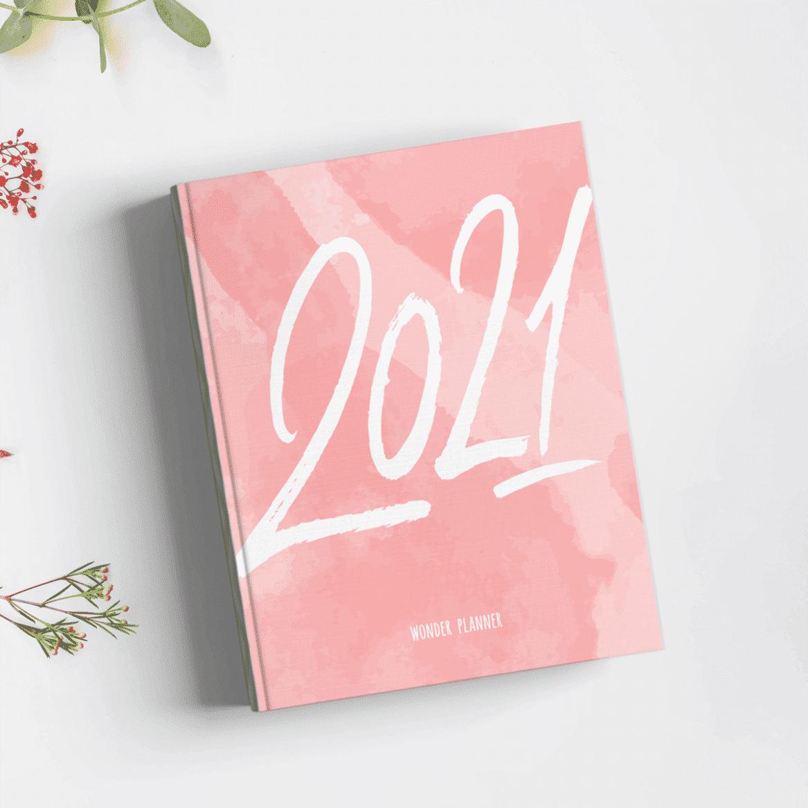 """Kalender & Lebensplaner """"Wonder Planner 2021"""" in A5"""
