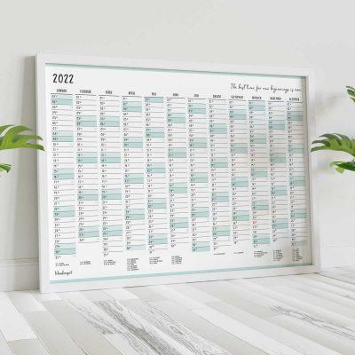 Wandkalender 2022 in A3 - Wonderspot